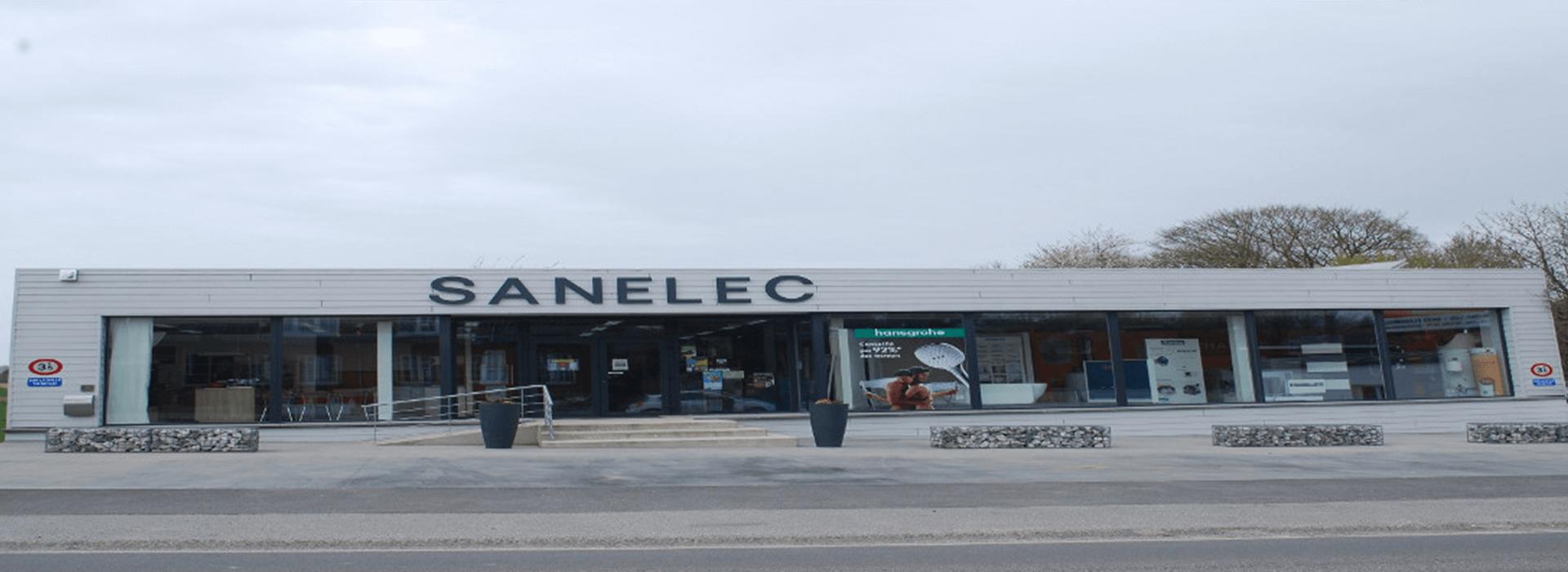 magasin Sanelec sanitaires chauffage à Florennes